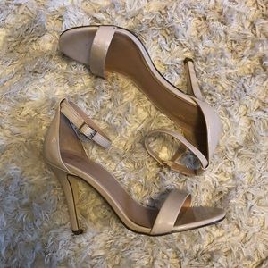 Mix No. 6 Nude Heels Size 7
